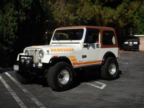 1984 Jeep CJ Base 2dr 4WD SUV na prodej
