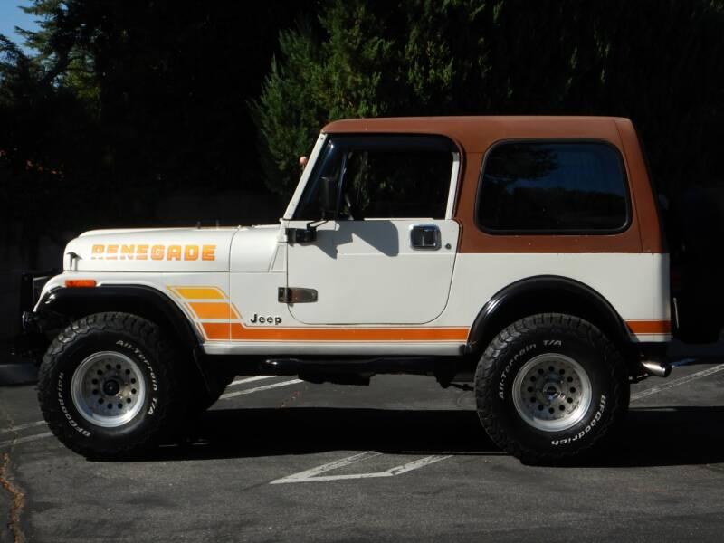 1984 Jeep CJ Base 2dr 4WD SUV