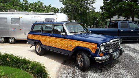 1985 Jeep Wagoneer Grand Wagoneer na prodej
