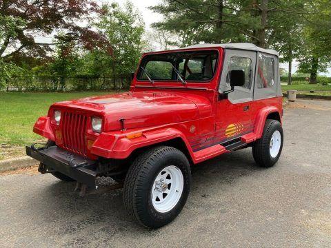 1989 Jeep Wrangler Islander na prodej