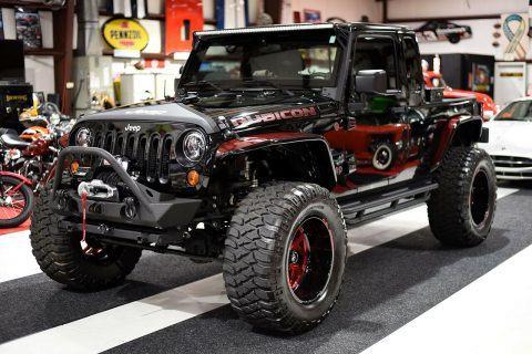 2012 Jeep Wrangler Wrangler Unlimited JK8 Lifted Fully CUSTOM na prodej