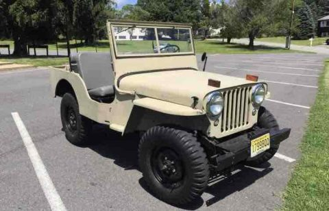 1946 Jeep CJ2A na prodej
