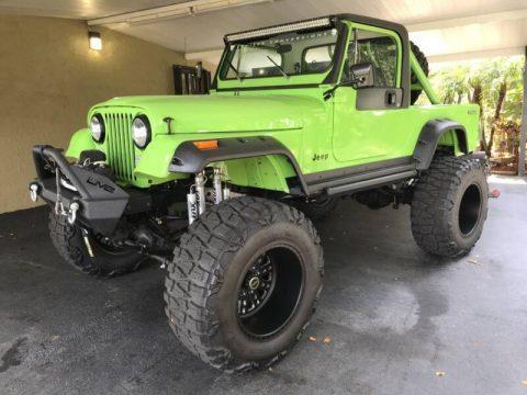 1981 Jeep Scrambler na prodej