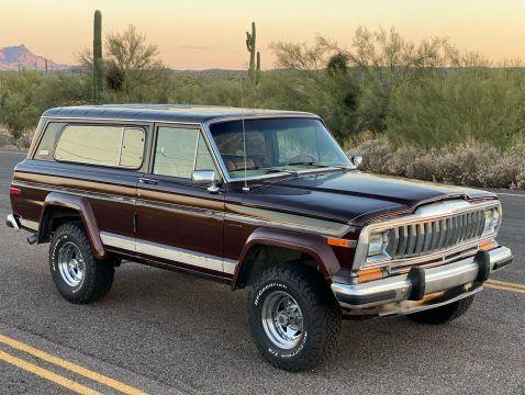 1982 Jeep Cherokee Laredo na prodej