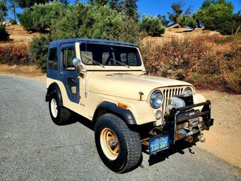 1979 Jeep CJ na prodej