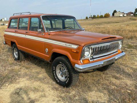1977 Jeep Cherokee na prodej
