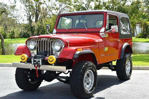 1978 Jeep CJ 304ci Auto Power Steering & Brakes na prodej