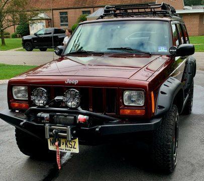 2000 Jeep Cherokee na prodej
