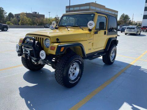 2002 Jeep Wrangler SPORT na prodej