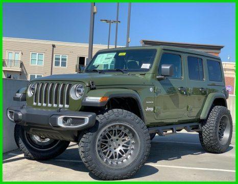 2020 Jeep Wrangler Sahara na prodej