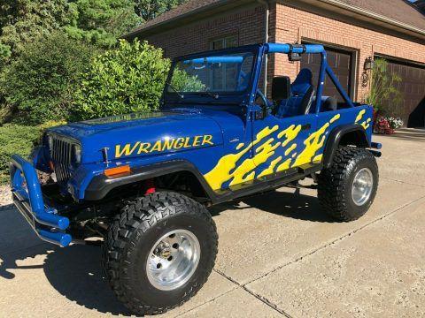 1988 Jeep Wrangler na prodej