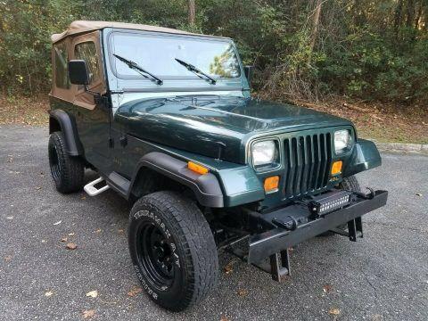 1993 Jeep Wrangler YJ na prodej