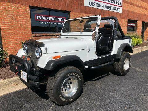 1982 Jeep CJ 7 na prodej