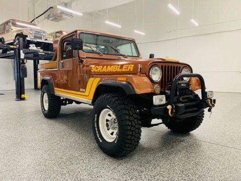 1982 Jeep Scrambler na prodej