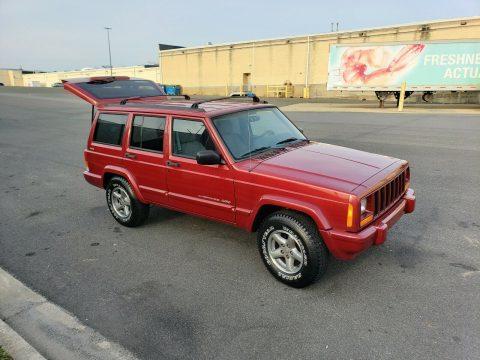 1998 Jeep Cherokee RARE Selec Trac 4×4   ZERO RUST! na prodej