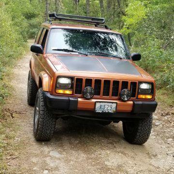 2001 Jeep Cherokee na prodej