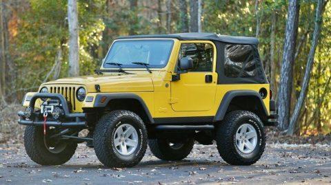 2006 Jeep Wrangler SPORT na prodej
