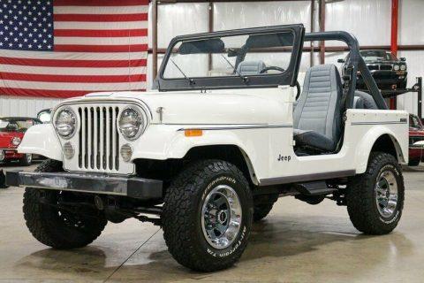 1982 Jeep CJ Limited na prodej