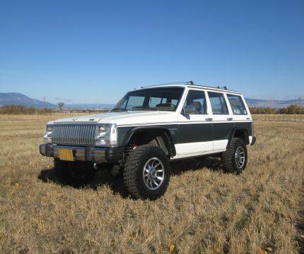 1985 Jeep Cherokee Wagoneer Limited na prodej