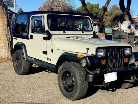 1989 Jeep Wrangler SAHARA na prodej
