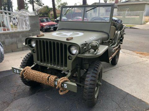 1944 Jeep Willys MB Millinery WW2 na prodej