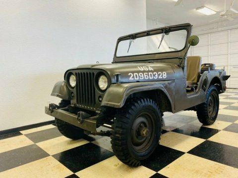 1951 Jeep Willys na prodej