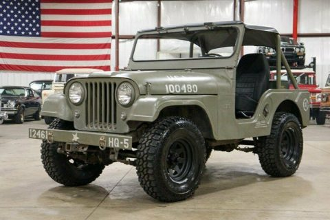 1960 Willys Jeep CJ 5 na prodej