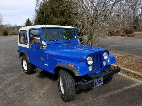 1981 Jeep CJ CJ7 na prodej