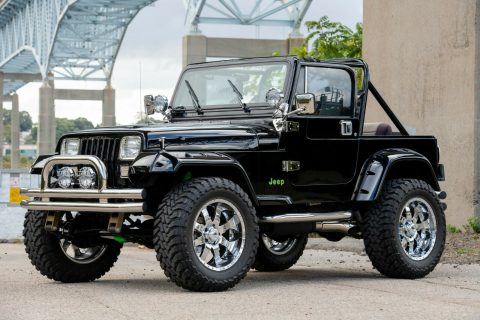 1989 Jeep Wrangler Chevy Big Block na prodej