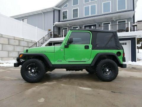 2004 Jeep Wrangler na prodej