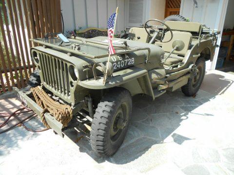 1943 Willys Jeep na prodej