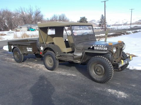 1953 Jeep Willys M38A AND Trailer na prodej