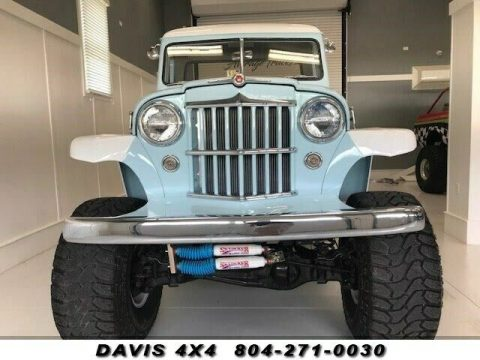 1954 Jeep Willys JEEP Restored Classic Lifted 4 Wheel Drive Pick up na prodej