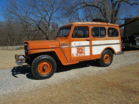 1963 Jeep Willys na prodej