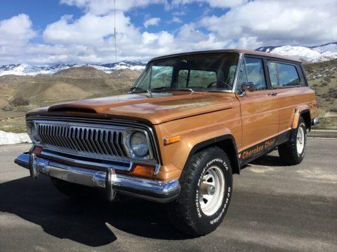1978 Jeep Cherokee Levi's Edition na prodej