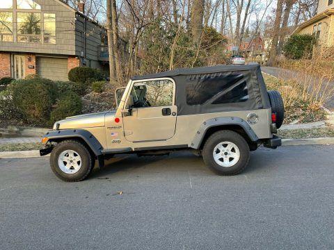2004 Jeep Wrangler LONG na prodej