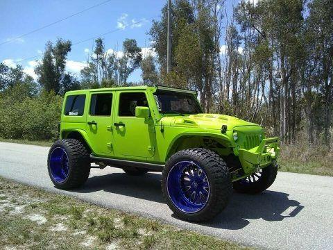 2012 Jeep Wrangler unlimited na prodej