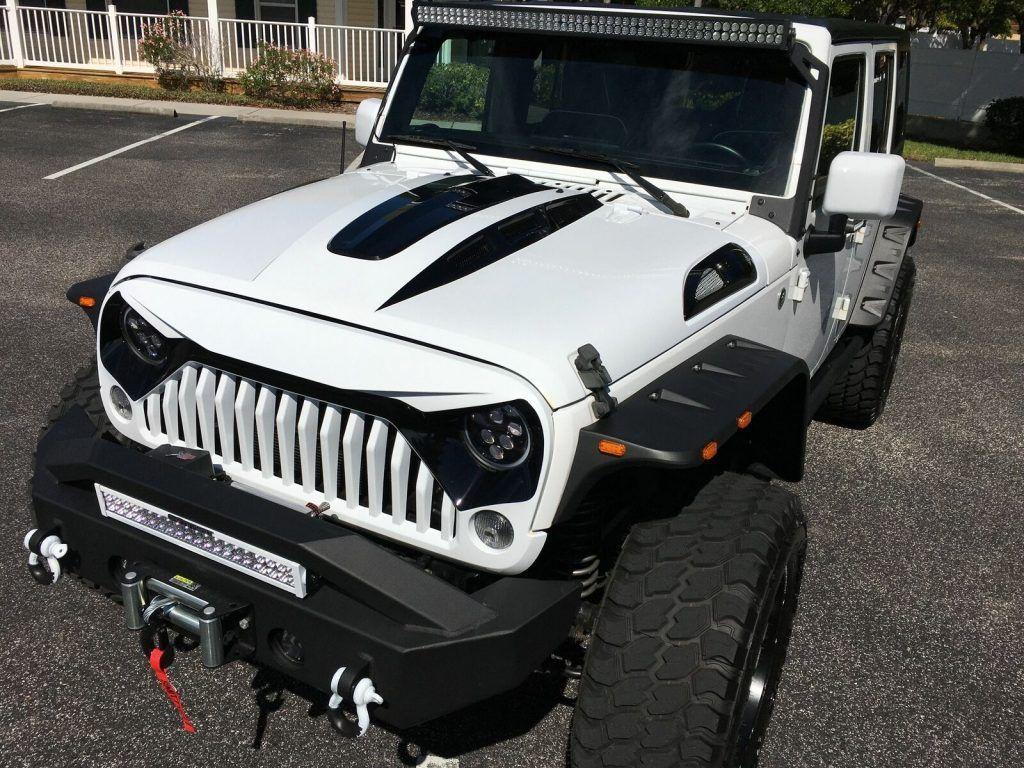 2018 Jeep Wrangler Custom Lifted  35″ Leather Camera Oscar Mike