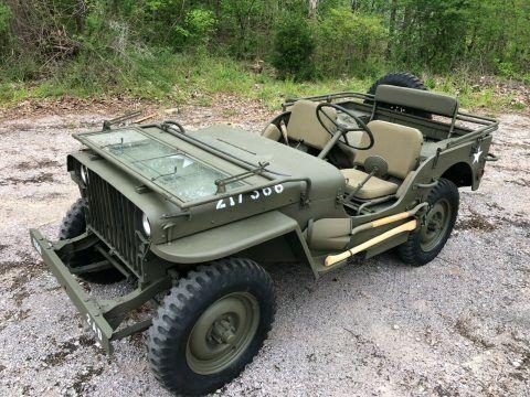 1942 Willys MB Military Jeep na prodej