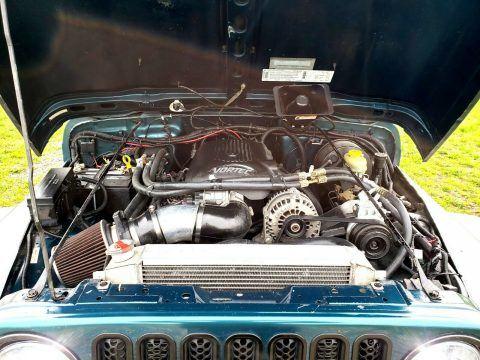 1997 Jeep Wrangler V8 na prodej
