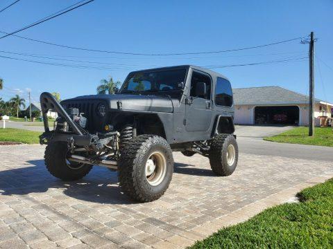 2001 Jeep Wrangler na prodej