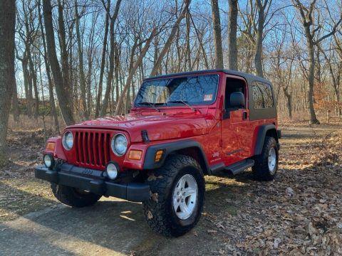 2004 Jeep Wrangler Unlimited Sport Automatic na prodej