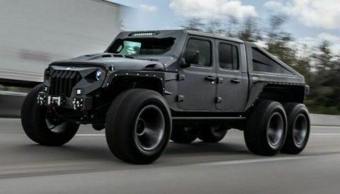 2021 Jeep Gladiator Turbo Diesel na prodej