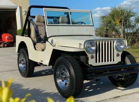 1947 Jeep CJ Willys na prodej