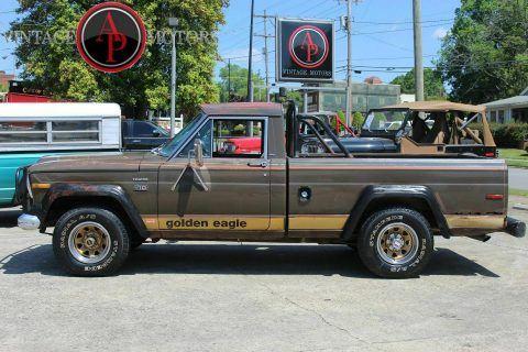 1978 Jeep J10 RARE Golden Eagle Levi's Edition 360 V8! na prodej