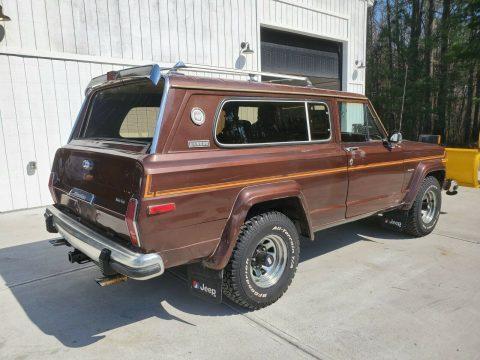 1983 Jeep Cherokee na prodej