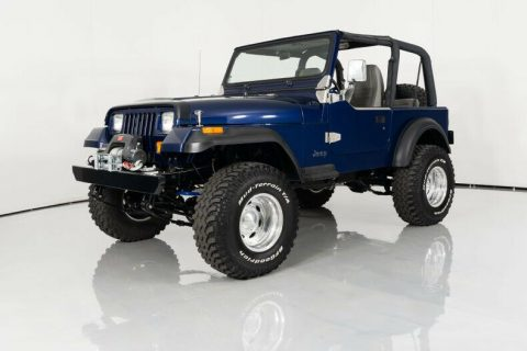 1995 Jeep Wrangler Frame Off Restoration 302 V8 na prodej