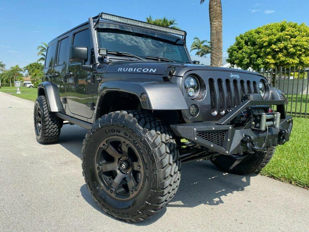 2018 Jeep Wrangler Custom RUBICON