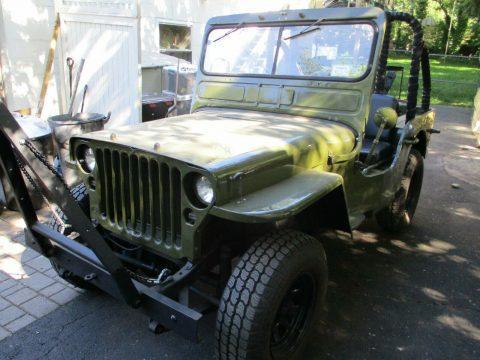 1943 Ford GPW Jeep na prodej