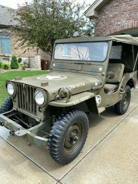 1953 Jeep Willys CJ3A na prodej